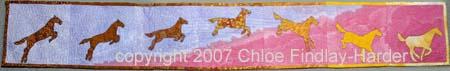 dawn original art quilt by chloe findlay-harder