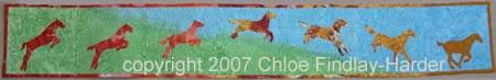 noon original art quilt by chloe findlay-harder